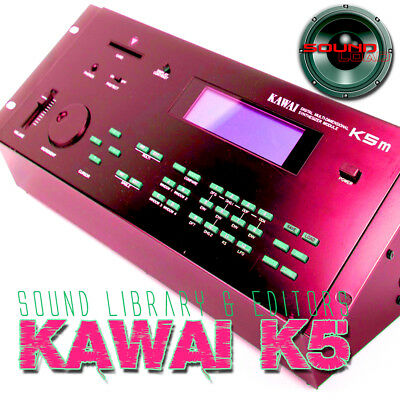 KAWAI K5/K5m HUGE Original Factory & New Created Sound Library & Editors on CD
