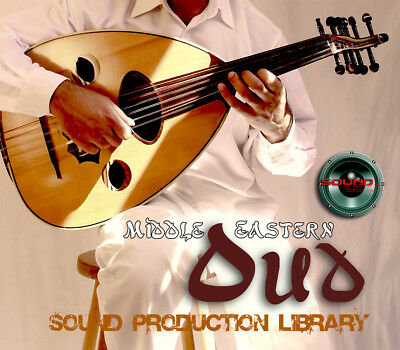 MIDDLE-Eastern OUD - UNIQUE Perfect WAVE/NKI Multi-Layer Samples Library on DVD