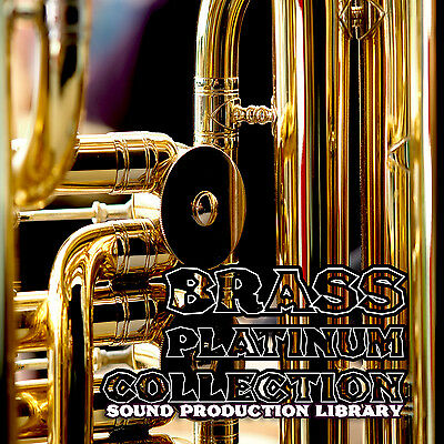 BRASS PLATINUM COLLECTION - Multi-Layer WAV/KONTAKT Sound Library 4,6GB on DVD