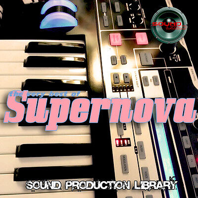 SUPERNOVA - BEST OF/Original HUGE 24bit WAVE Multi-Layer Samples Library on CD
