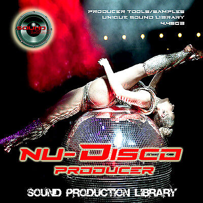 NU-DISCO PRODUCER - THE very best of DISCO 24bit Multi-Layer Samples Library DVD