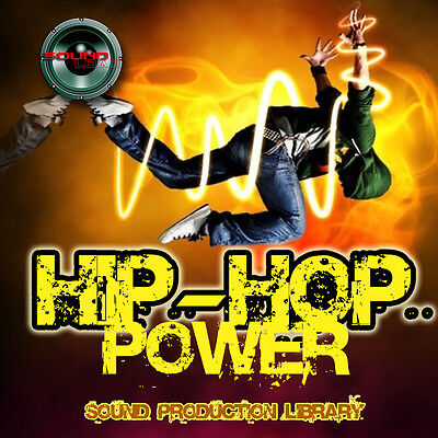 HIP-HOP POWER - unique HUGE 24bit WAVE Multi-Layer Studio Samples Library in DVD