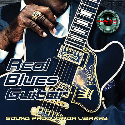 Blues Guitar Real HUGE Original 24bit Multi-Layer Studio Samples Library on DVD
