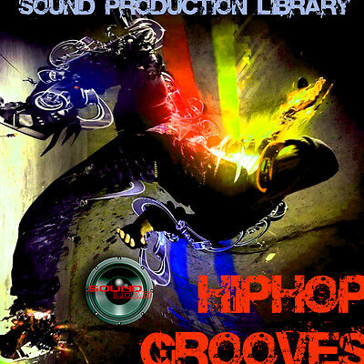 HIP-HOP GROOVES - HUGE 24bit WAVE Multi-Layer Samples Production Library on CD