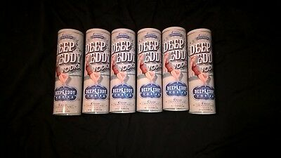 Deep Eddy Vodka Limited Edition Tin Canister (Set of 6 Canisters)