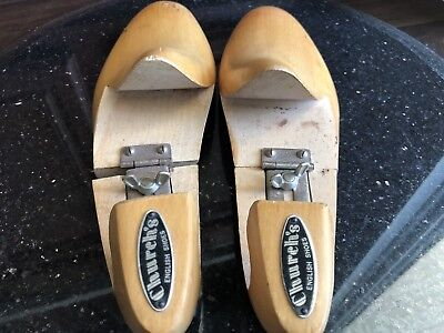 Church's English Shoes Wooden High End Shoe Trees 2 Pieces 10M and 11M