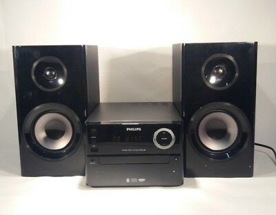 Philips BTM2180-37 Wireless Bluetooth CD Micro Music System with Remote