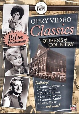 New Dvd - Opry Video Classics - Queens Of Country - Patsy Cline, Dolly Parton