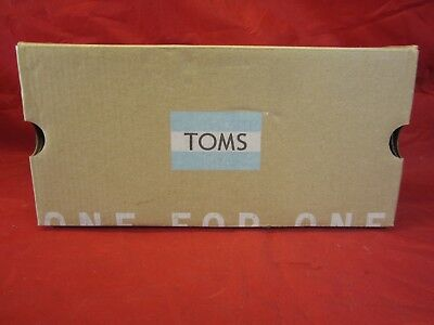 Toms Women's Classic Navy Washed Denim Casual Shoe Size 7 - New In Box