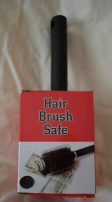 Hair Brush Secret Hidden Diversion Safe Money Jewelry Storage Home Security NEW