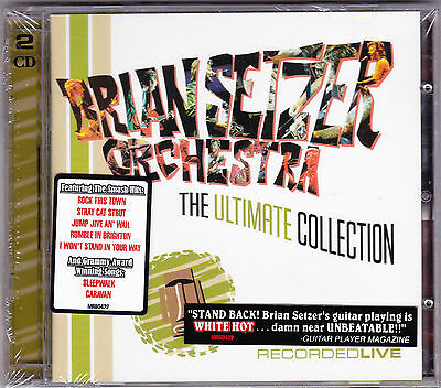 Brian Setzer Orchestra - The Ultimate Collection - CD - (2CD) Brand New Sealed
