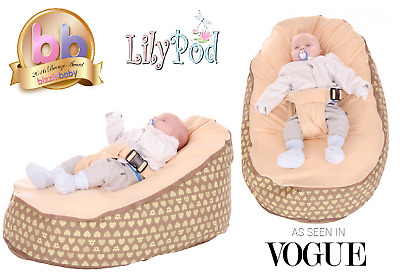 Baby Bean Bag By Lily-Pod N  - Including filling & New Design - RRP -£49.95