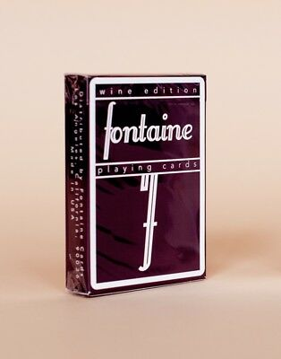 Pre-order - Wine Fontaine Playing Cards /SOLD OUT in 13 mins /anyone/dealersgrip
