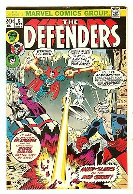 Defenders 8   Silver Surfer crossover