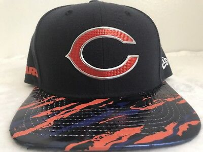 720d291cc Chicago Bears New Era Color Rush On Field 9FIFTY Snapback Adjustable Hat