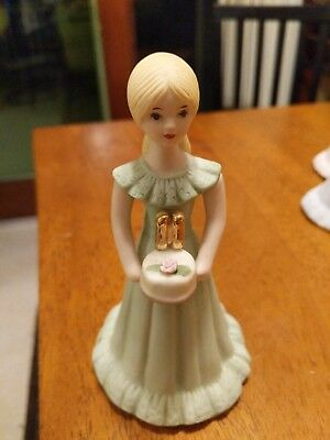 Enesco Growing Up Blonde Girl 11