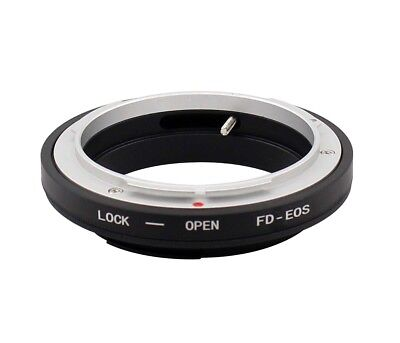 FD-EOS Mount Adapter Ring For Canon FD Lens to EOS EF Rebel XTi XSi T1i T2i T3i