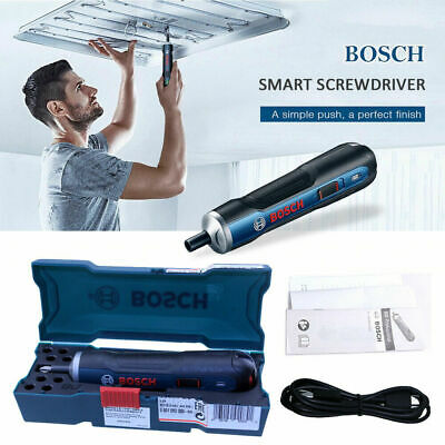 NEW Bosch Go Handhold Adjustable Electric Screwdriver 6 Gears Cordless Bits Tool