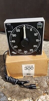 GraLab Model 300 Electro-Mechanical Darkroom Timer - 120V/60/Hz NEW IN BOX