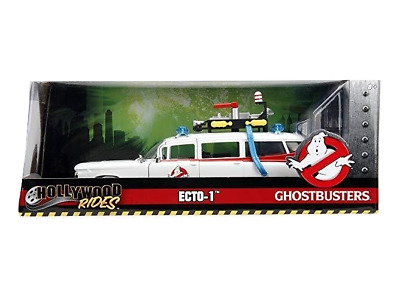 Ghostbusters - Ecto-1 1984 Hollywood Rides Car 1:32 - JADA Toys New
