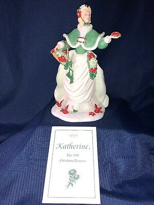 Lenox 1999 Limited Edition Christmas Princess Katherine In Box With COA