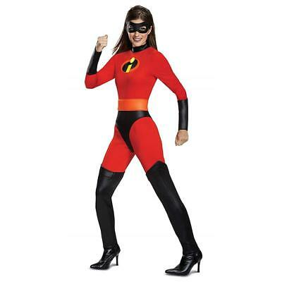 NEW Incredibles 2 Mrs. Incredible Classic size L 12/14 Bodysuit Costume Licensed