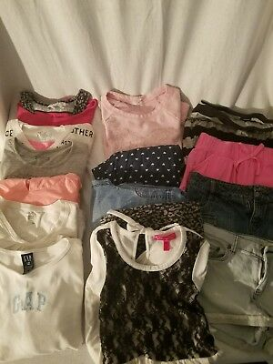 Mixed lot of girls clothes size 10/12 back to school. 15 pcs, mixed lot #8