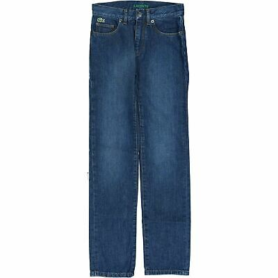 LACOSTE Boys' Blue Jeans, Skinny Fit, Low Rise, 12 years 152cm