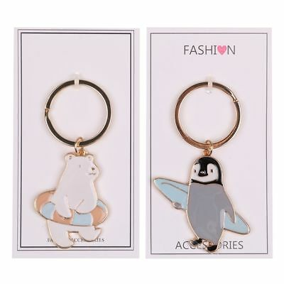 Alloy Cartoon Bear keyring Charm Purse Bag Key Ring Chain Keychain Gift Cute Hot