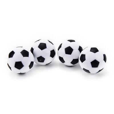 4pcs 32mm Soccer Table Foosball Ball Football for Entertainment PPUS