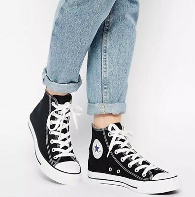 CONVERSE Chuck Taylor All Star High Top Canvas Shoes Size 7.5 WM