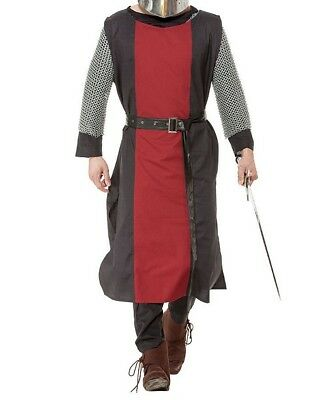ENGAGEMENT MEDIEVAL Accessories Clothing FANTASY Red&Black Men TUNIC TABARD LAR