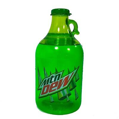 Mountain Dew Jug Plastic Growler 32oz
