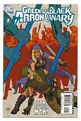 Green Arrow & Black Canary #2  NM  Limited Edition Variant  2008 DC