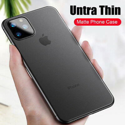 Case For iPhone XS Max XR 2018 Ultra Thin Slim 0.3mm Matte Hard Back Cover Skin