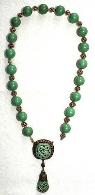 Antique/Vintage Chinese Turquoise Necklace