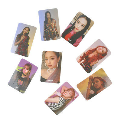 New Kpop SQUARE UP Blackpink Photocards Poster Album Paper Cards Photo Card