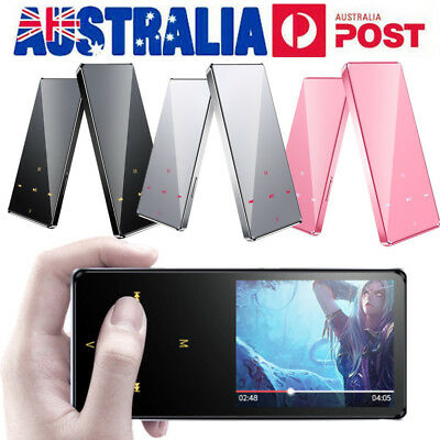 AU Portable 8GB LCD Touch Screen MP3 MP4 Music Video Media Player Bluetooth FM