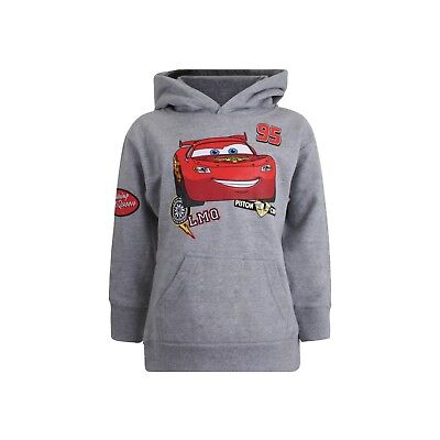Disney Cars - Patches - Kids Pullover Hoodie - Sport Grey