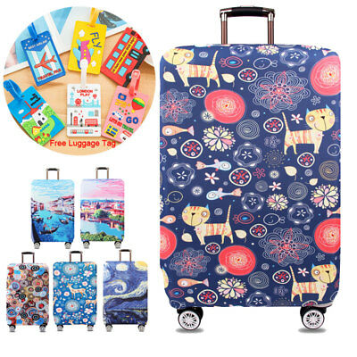 Thicker Luggage Suitcase Protective Cover 18''-32'' Suitcase Protector Elastic