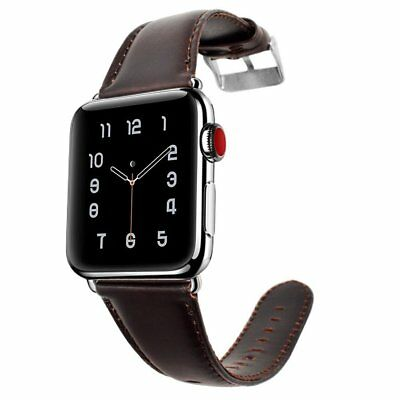 Genuine Leather Watch Band Strap For Apple Watch Series 4 iwatch 40/44mm