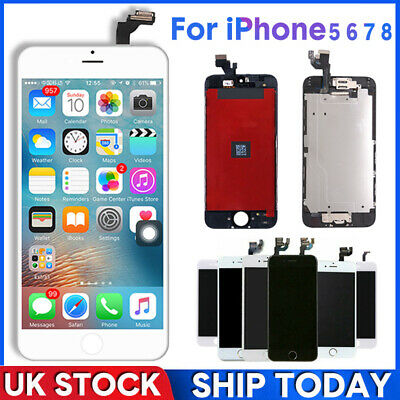 For iPhone 6s 6 7 8 Plus 5 5C 5S SE LCD Display Touch Screen Replacement LOT