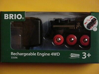 Brio 33596 Rechargeable Engine 4Wd  Neu Ovp +3