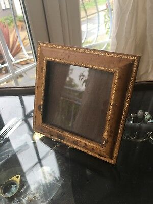Vintage Hand Tooled Leather Jarrolds Of Knightsbridge1930s Picture Frame