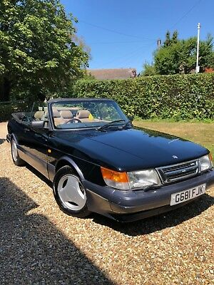 Saab 900 Aero 16V HPT Turbo Convertible