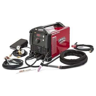 Lincoln Square Wave Tig 200-(NEW)  3-yr. factory warranty-free tig torch holder