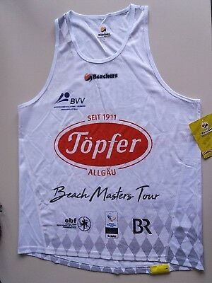 BVV Beach Masters Männer Beachvolleyball Player Shirt/Top (L) 2018