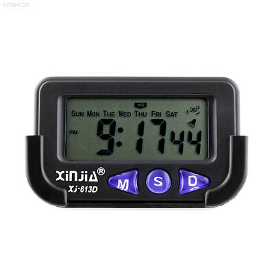 D037 Auto Car Interior Jumbo Clock Dashboard With Time Date Alarming LCD Display