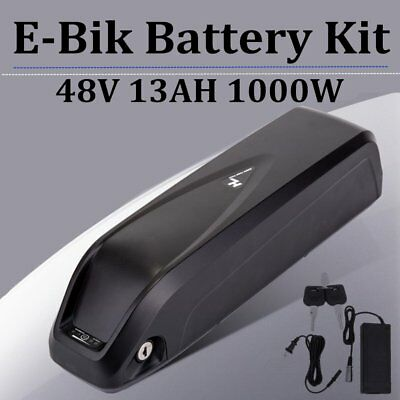 Hailong E-Bike 48V 13Ah Lithium Lion Battery with Charger for 1000W motor BEST