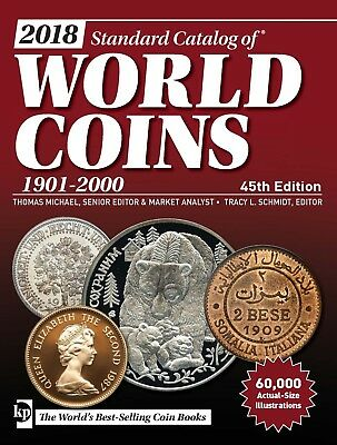 2018 Standard Catalog of World Coins 1901-2000 (45th ed)